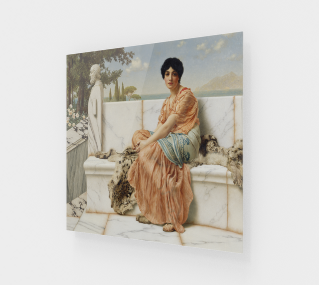 In the Days of Sappho by John William Godward | Fine Art