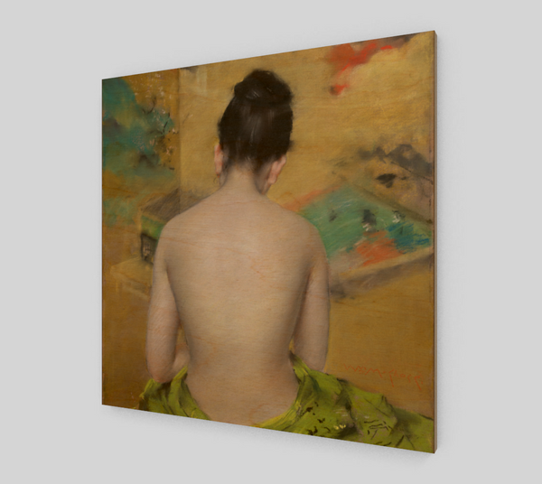 Back of a Nude by William Merritt Chase | Canvas Fine Arts