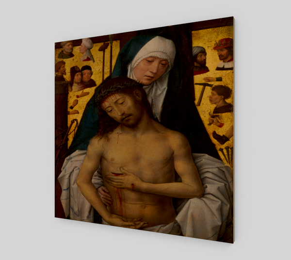 The Man of Sorrows by Hans Memling | Canvas Fine Arts
