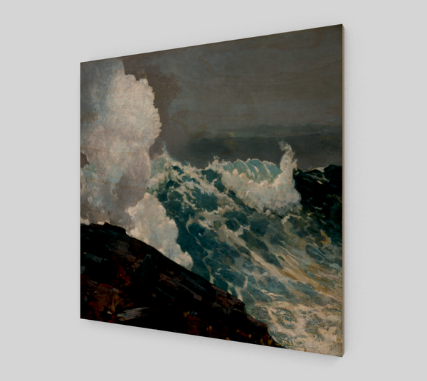 Northeaster by Winslow Homer - Famous Paintings