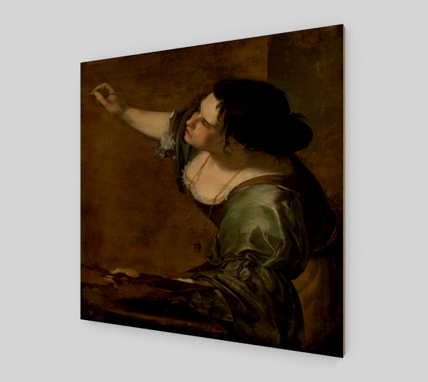 Artemisia Gentileschi Self-portrait - Famous Paintings - Fine Art