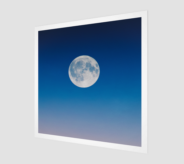 Full Moon [Museum Quality Fine Art Prints]