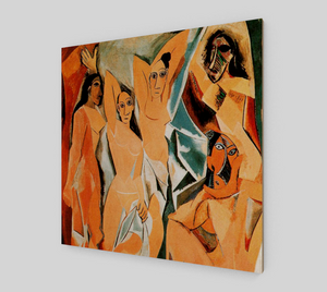 Les Demoiselles d'Avignon by Pablo Picasso [Art Reproductions]