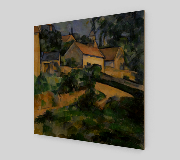 Turning Road at Montgeroult by Paul Cézanne | Fine Arts