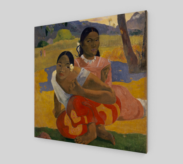 When Will You Marry? by Paul Gauguin | Fine Art Reproductions