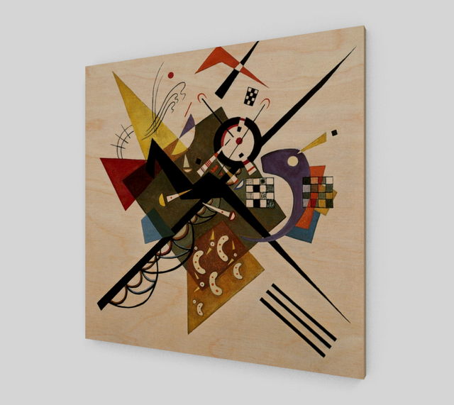 On White II by Wassily Kandinsky Paintings | Fine Arts