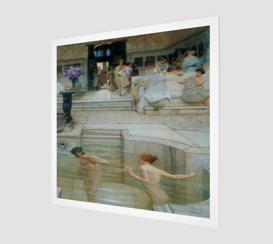 A Favorite Custom Painting by Lawrence Alma Tadema