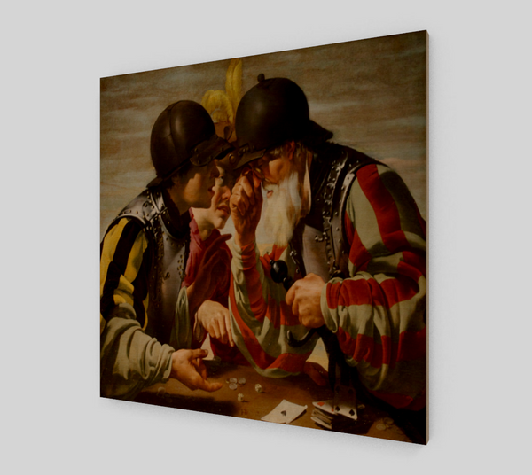 The Card Players by Hendrick ter Brugghen | Canvas Fine Arts
