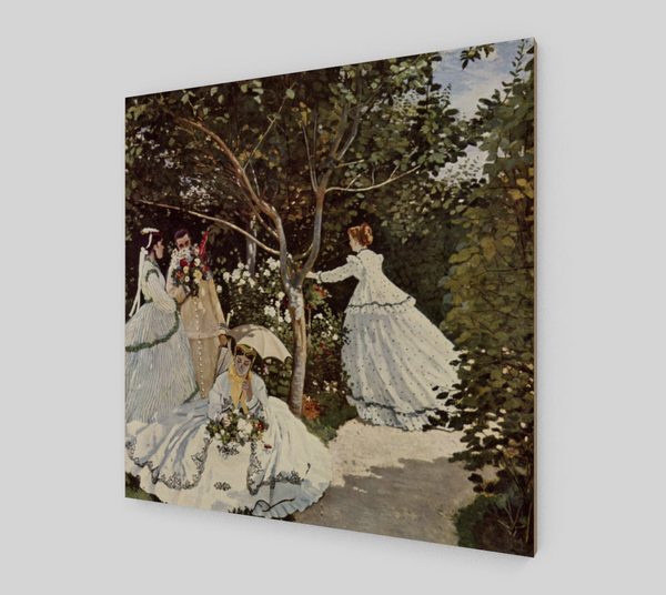 Women in the Garden by Claude Monet | Canvas Fine Arts