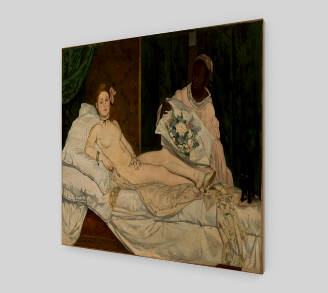Olympia by Édouard Manet | Fine Art Prints On Canvas