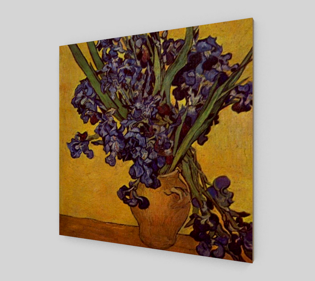 Still Life with Irises by Vincent van Gogh | Canvas Fine Arts