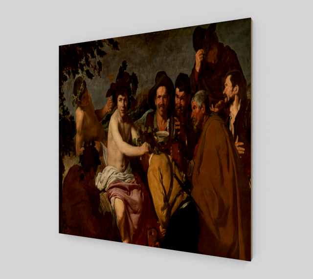 The Triumph of Bacchus by Diego Velazquez | Canvas Fine Arts