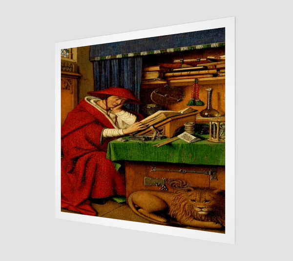 Saint Jerome in his Study by Jan van Eyck