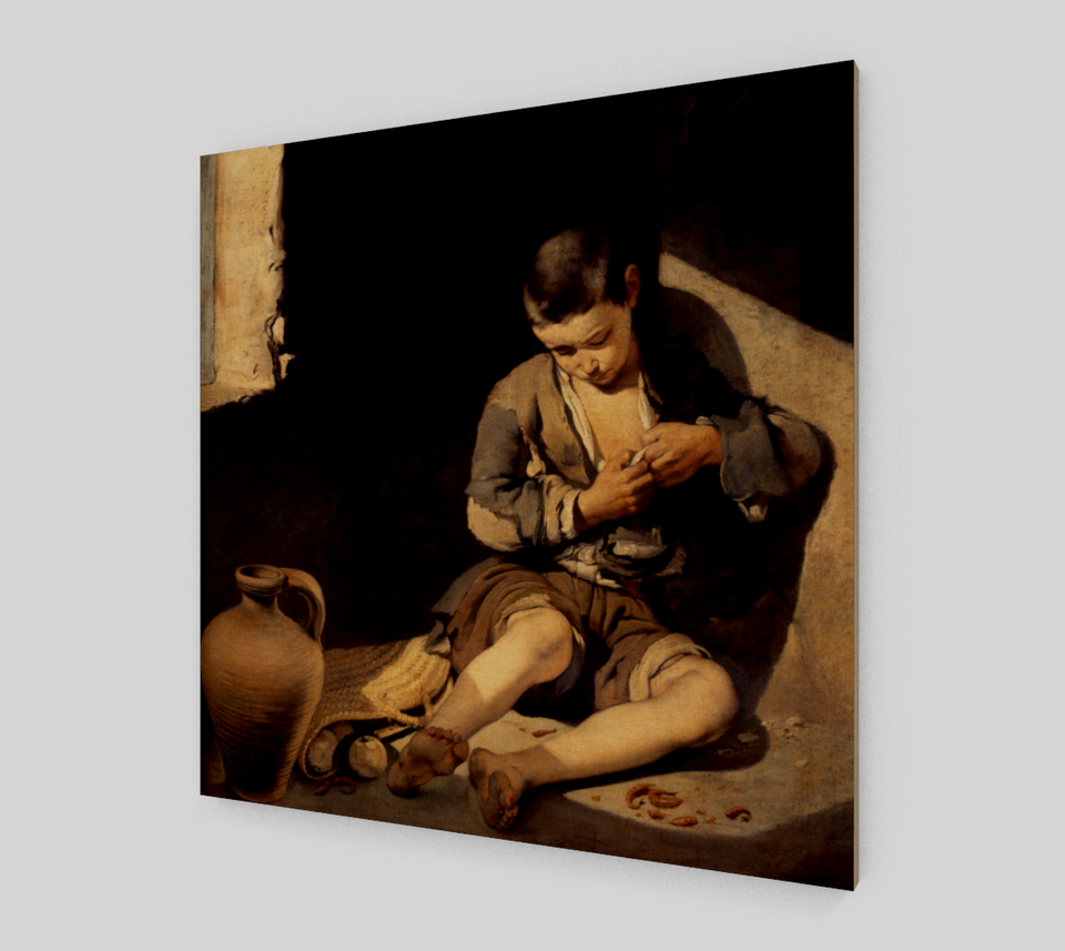 The Young Beggar by Bartolome Esteban Murillo | Canvas Fine Arts
