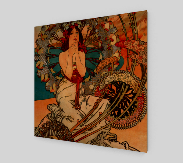 Monaco and Monte-Carlo by Alphonse Maria Mucha | Canvas Fine Arts