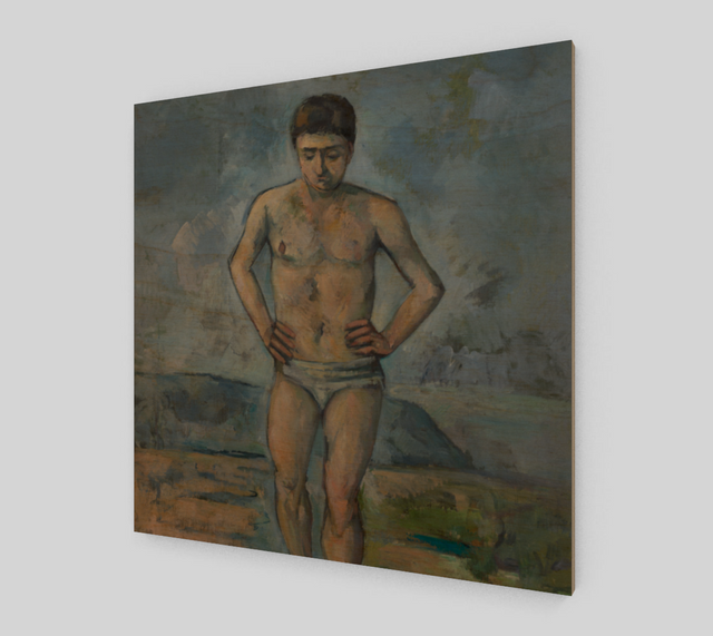 The Bather by Paul Cézanne | Fine Art Reproductions