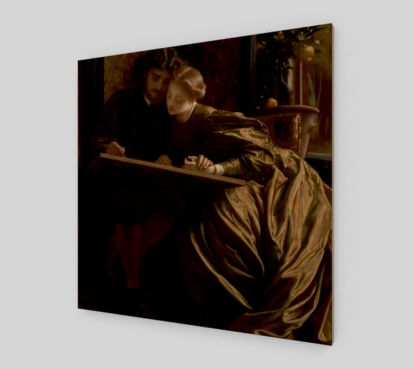 The Painter's Honeymoon by Lord Frederick Leighton | Canvas Fine Arts