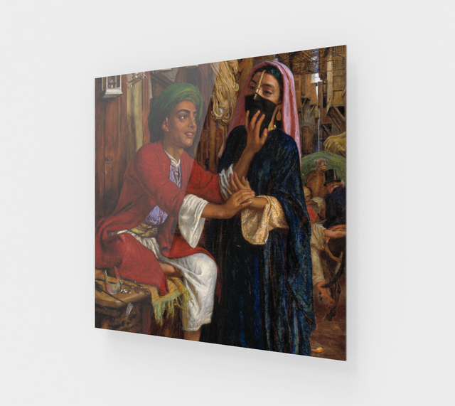 A Street Scene in Cairo by William Holman Hunt [Acrylic Wall Art] - Fine Art