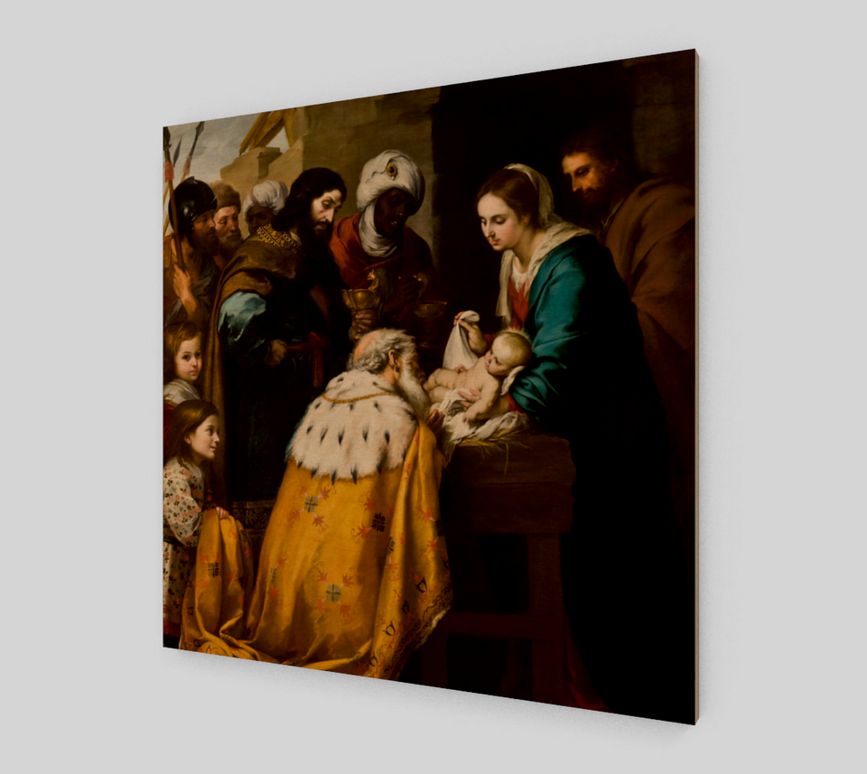 Adoration of the Magi by Bartolome Esteban Murillo | Canvas Fine Arts