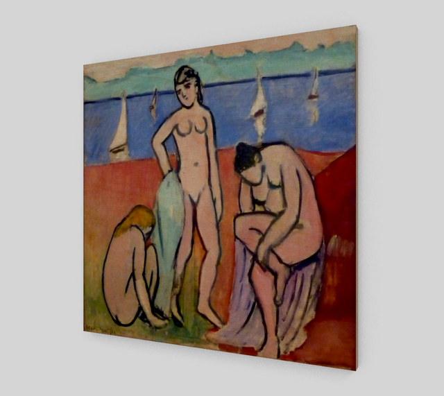 Three Bathers by Henri Matisse Paintings