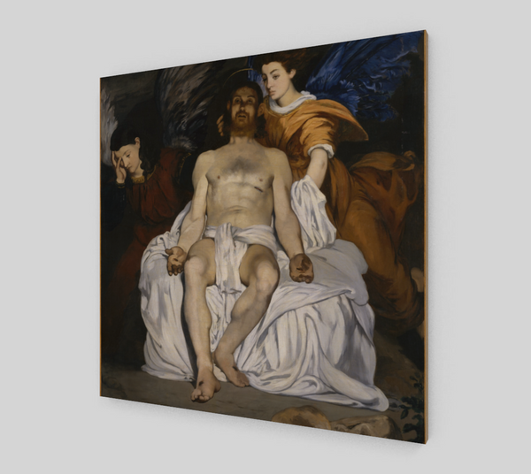 The Dead Christ with Angels by Édouard Manet | Fine Arts
