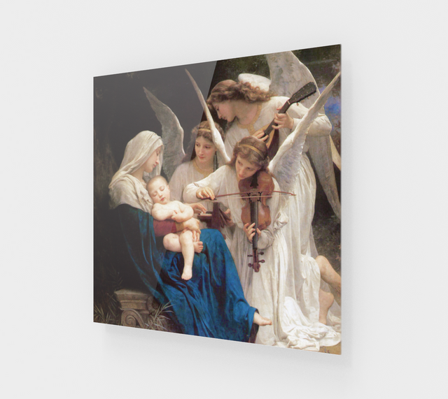 Song of the Angels by William-Adolphe Bouguereau [Acrylic Wall Art]