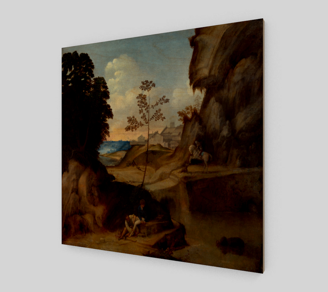 Il Tramonto by Giorgione - Famous Painting