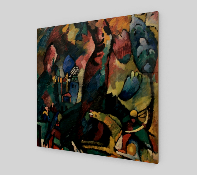 Picture with an Archer by Wassily Kandinsky | Fine Art Replica