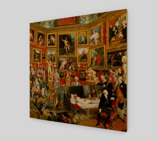 The Tribuna of the Uffizi by Johan Zoffany | Canvas Fine Arts
