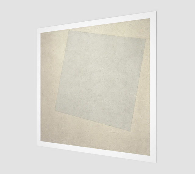 White on White by Kazimir Malevich