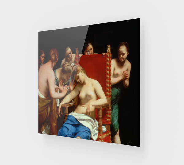The Death of Cleopatra by Guido Cagnacci [Acrylic Wall Art Decor]