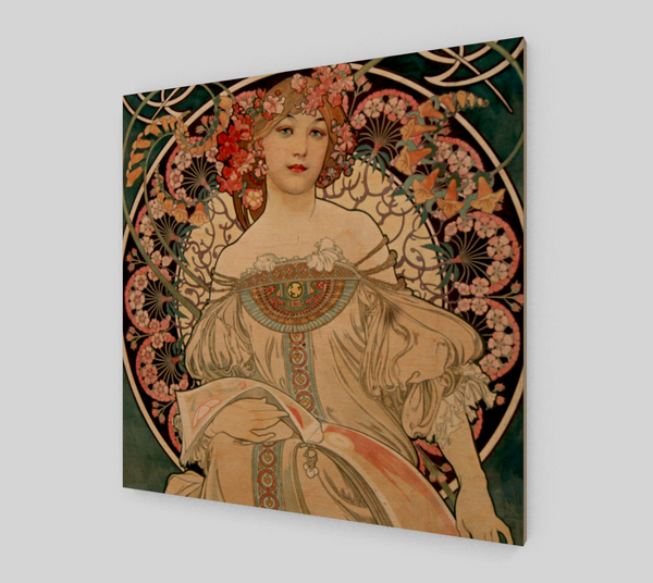 Reverie by Alphonse Maria Mucha | Fine Art Prints On Canvas