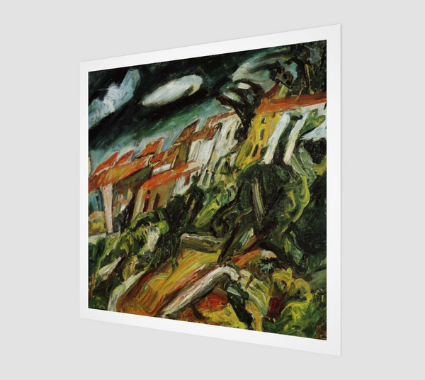View of Ceret by Chaim Soutine