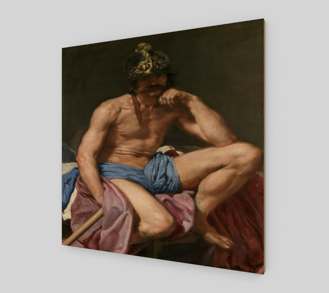 Mars Resting by Diego Velazquez | Fine Art Reproductions
