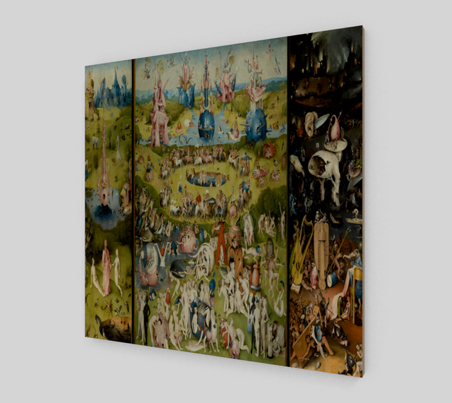 The Garden of Earthly Delights by Hieronymus Bosch | Fine Arts