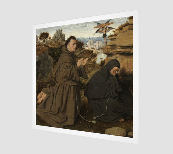 Saint Francis Receiving the Stigmata by Jan van Eyck