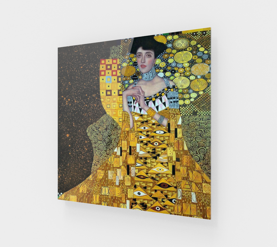 Portrait of Adele Bloch-Bauer I by Gustav Klimt | Fine Arts Prints