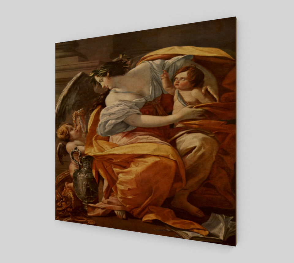 Allegory of Wealth painting by Simon Vouet