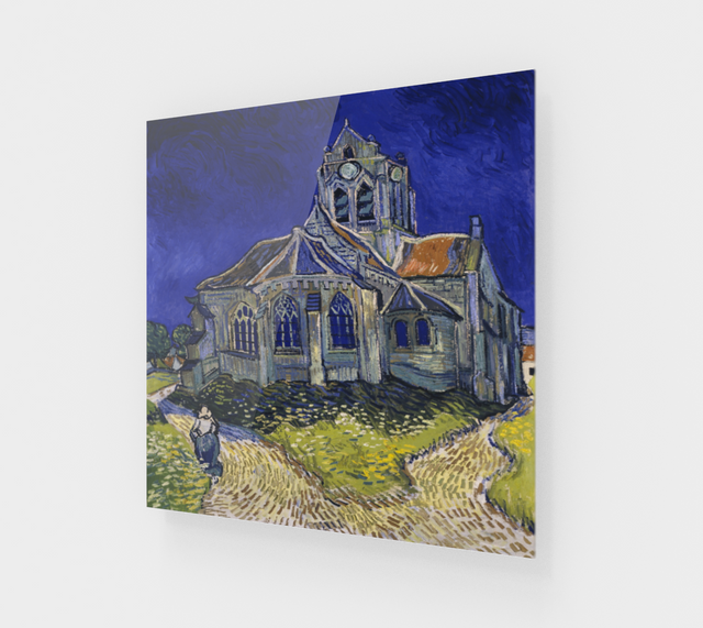 The Church at Auvers by Vincent Van Gogh Painting | Fine Arts
