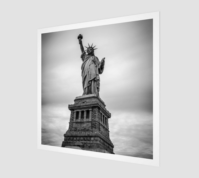 Statue Of Liberty [Museum Quality Fine Art Prints]