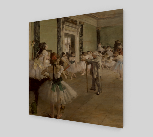 The Ballet Class (Musée d'Orsay) Edgar Degas [Art Reproductions]