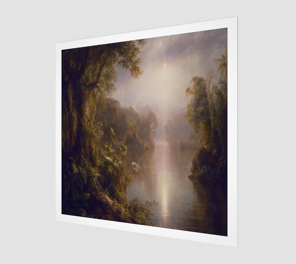 El Rio de Luz by Frederic Edwin Church [Museum Quality Fine Art Prints]