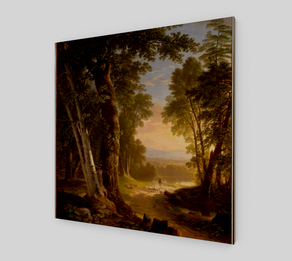 The Beeches by Asher Brown Durand | Canvas Fine Arts