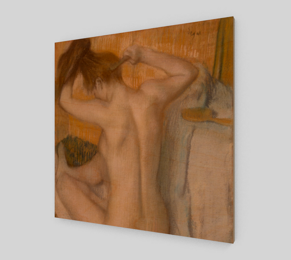 Woman Combing Her Hair by Edgar Degas | Fine Arts