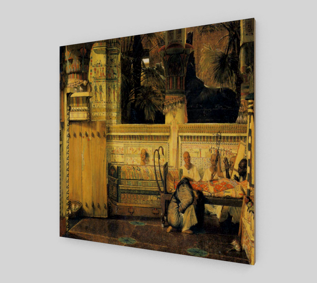 The Egyptian Widow by Lawrence Alma Tadema | Fine Arts Prints