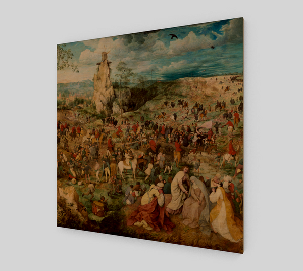 The Procession to Calvary by Pieter the Elder Bruegel
