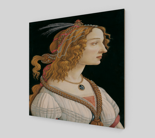 Portrait of a young woman by Sandro Botticelli -  Famous Paintings