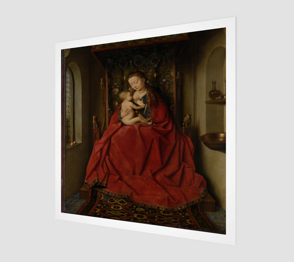 Lucca Madonna by Jan van Eyck