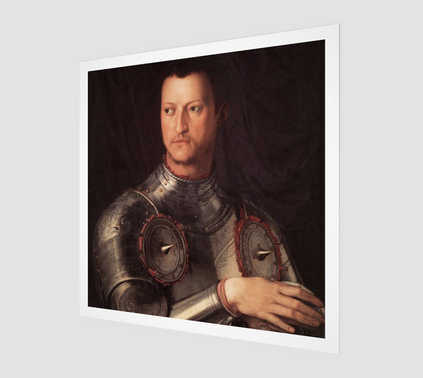 Portrait of Cosimo I de' Medici by Bronzino