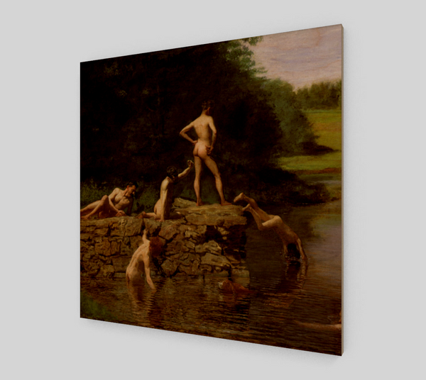 The Swimming Hole by Thomas Cowperthwait Eakins | Fine Arts